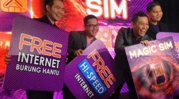 Celcom Magic Sim Burung Hantu Unlimited Broadband Data Quota