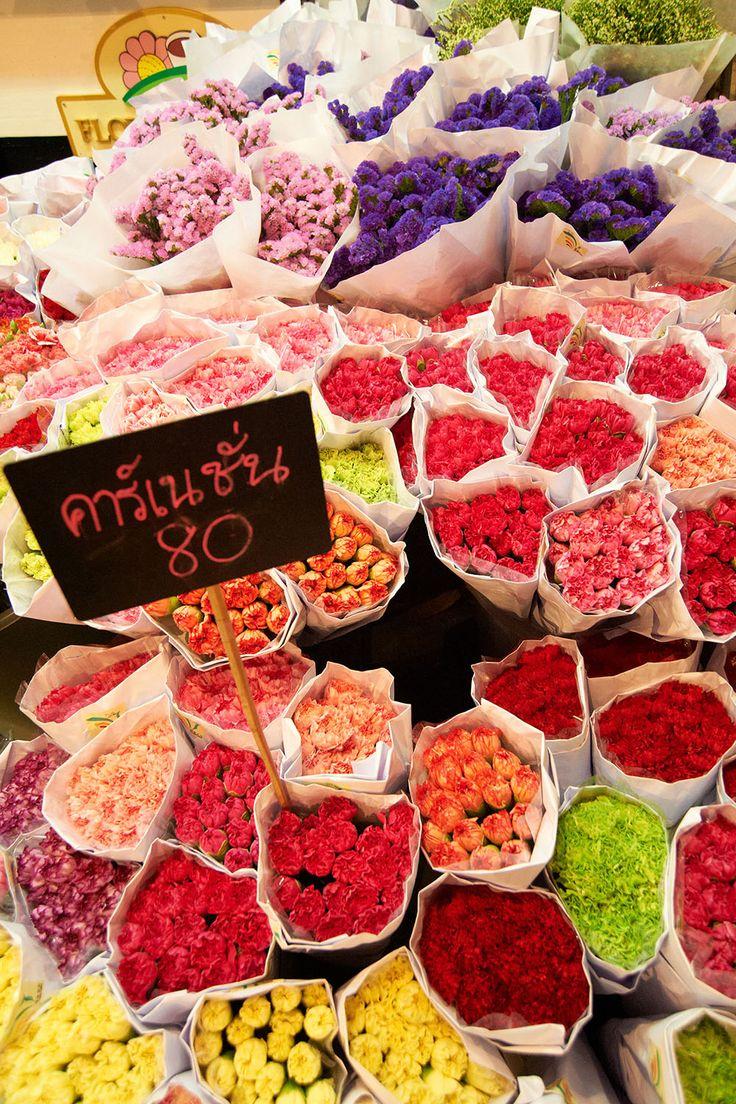 Pak Klong Talad Fresh Flower