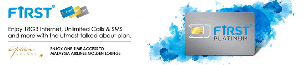 Celcom First Platinum For RM150