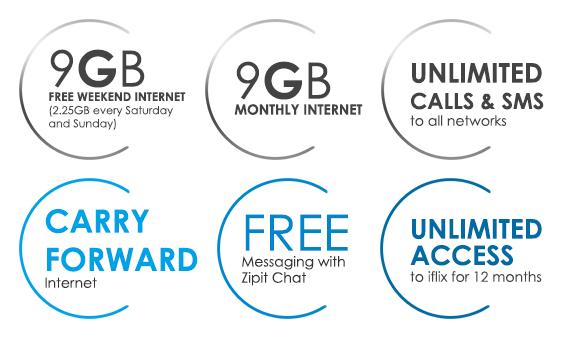 Celcom First Platinum RM150 Benefit