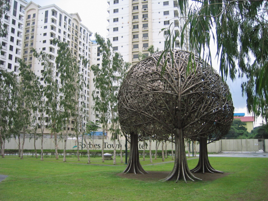 Burgos Circle and The Tree